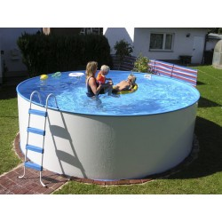 Montažni okrogel bazen SOLO FUN