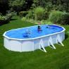 Ovalni samostoječi montažni bazen DREAM POOL 730ECO SET, 730x375x120cm