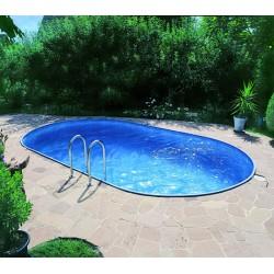 Vgradni ovalni bazen set Ferrara