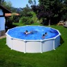 Okrogel montažni samostoječi bazen GRE KIT 458 460x132cm