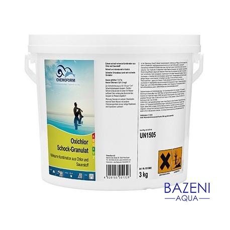 Chlor Schock Oxy granulat 3 kg