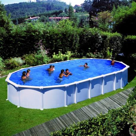 Samostoječ montažni ovalni bazen KIT PR 915 , 915x470x132cm