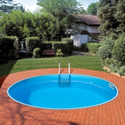 Vgradni okrogel bazen set BAHRAIN 350 x 150 cm Planet Pool