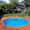 Vgradni okrogel bazen set BAHRAIN 350 x 150 cm Planet Pool