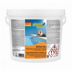 MULTITAB 3kg/200g - klorove tablete z algicidom in flokulantom