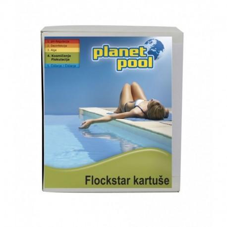 FLOCKSTAR KARTUŠE 8x125g - odstranjuje motnost vode-za peščene filtre