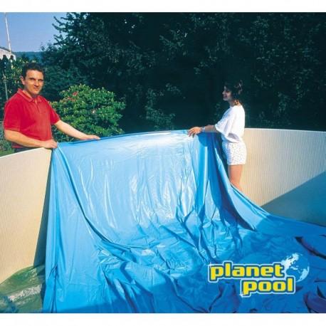 FOLIJA 450x90cm - modra 0,2 mm