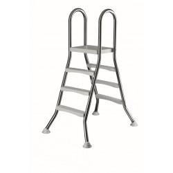 LESTEV NERJAVEČA, 2x3 stopnice, v100 cm, fi 43 mm