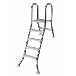 LESTEV NERJAVEČA, 4x1 stopnic, v120/40 cm