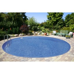 Okrogel montažni vgraden bazen set BARBADOS 6,00x 1,5m