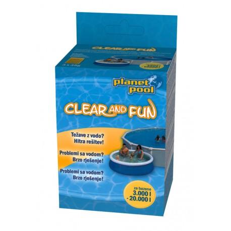 Planet Pool Clear and Fun dezinfekcija