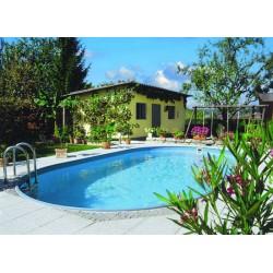 Vgradni ovalni bazen Faro Planet Pool